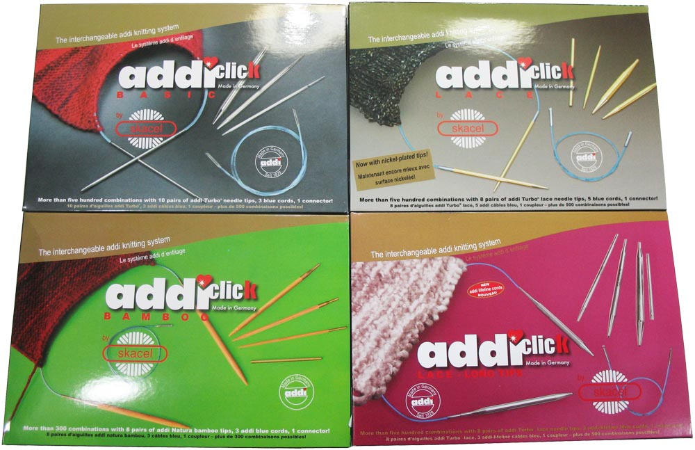 Addi Lace Connection Cables Cords Sizes 40-100 cm