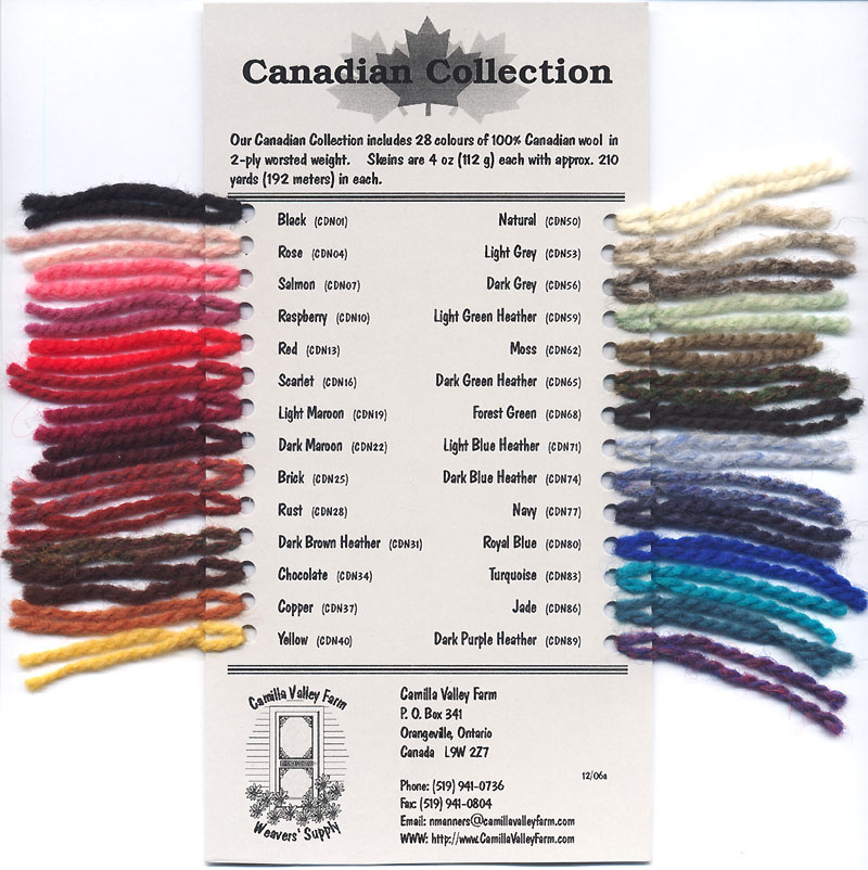 canadian collection wool knitting yarns  2