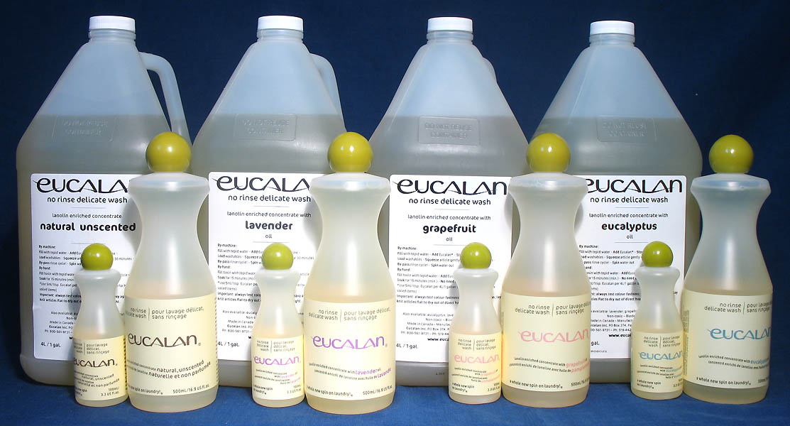 Eucalan Fine Fabric Wash 1gal-Eucalyptus