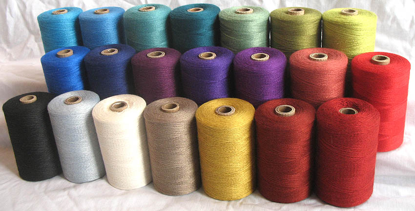 Bamboo Yarn : 10/2 and 20/2 Bamboo Yarn for Weaving