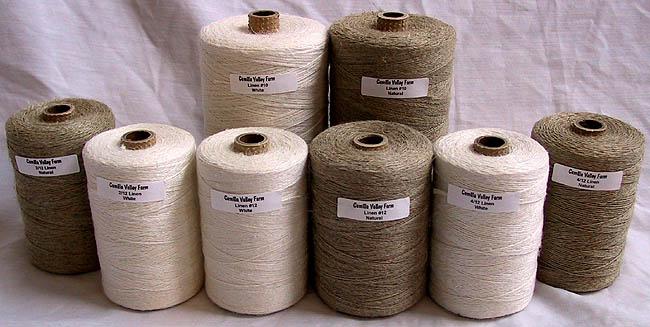 Belgian & Irish Linen Yarn