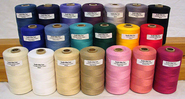 Mercerized Cotton Yarns
