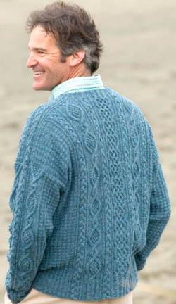 Simply shetland 4 duxbury point pullover