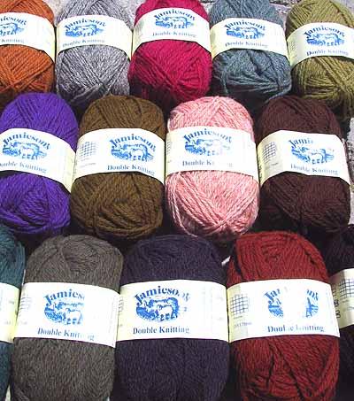 Jamieson's of Shetland Wool Knitting Yarns (Spindrift, DK, Heather ...