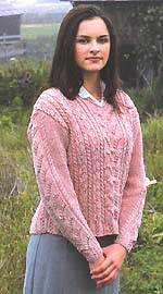 Lily of the Valley Pullover
