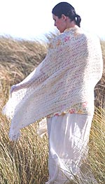 Marguerite Beaded Shawl