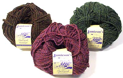 Jamieson's Aran Heather Yarns