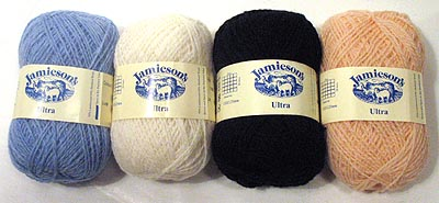 Jamieson's Lace Ultra Yarns