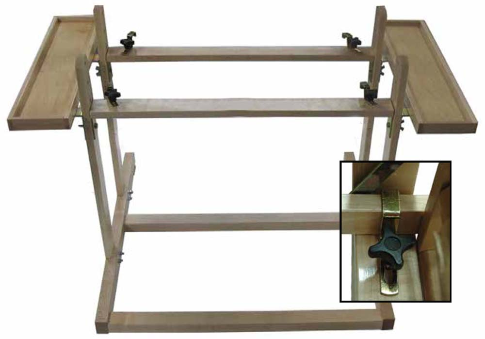 Weaving Benches Holds All And Table Loom Stands