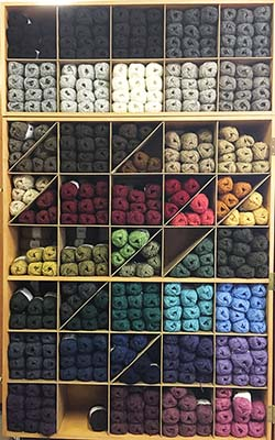 Lopi Lite Yarn Display