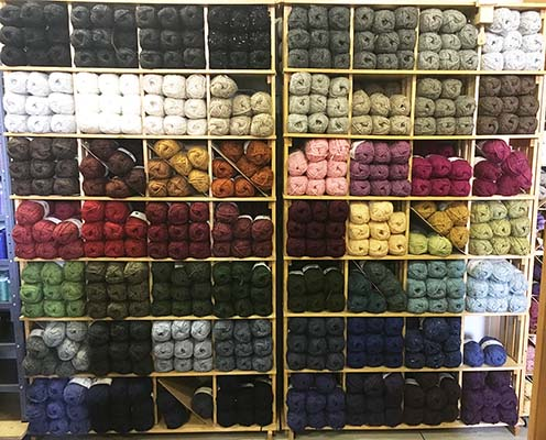 Lopi Yarn Display