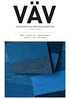 VavMagasinet - Swedish Weaving Magazine (VAV Magazine)