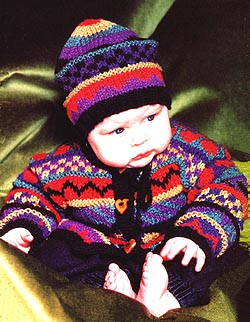 Colours Sweater & Hat