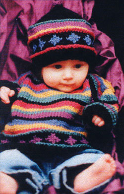 Mo'Baby Sweater & Hat
