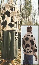 Cow Pullover