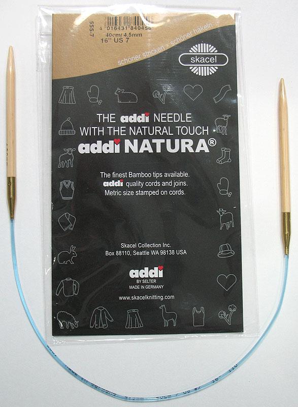 Addi Turbo Inox Circular Knitting Needles More Added! Lace Natura