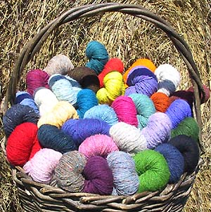 Fleece Artist & Hand Maiden Yarns and Rovings | Colorsong