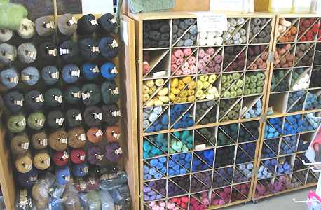 Knitting Wool Shops : falls wool and cotton yarn fleece artist kits as well as a complete ...