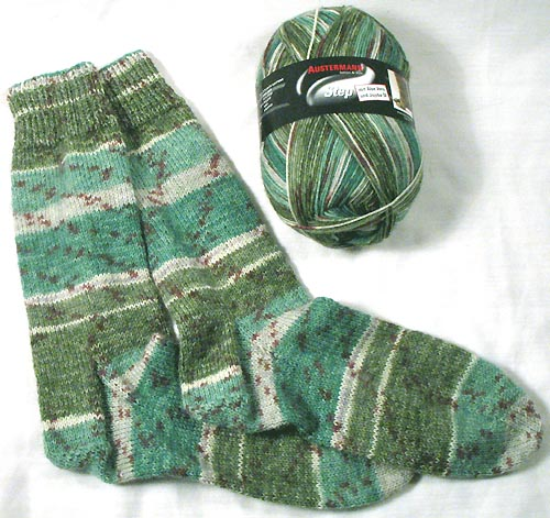Austermann Step Yarn Self Striping Sock Yarn With Aloe Vera And