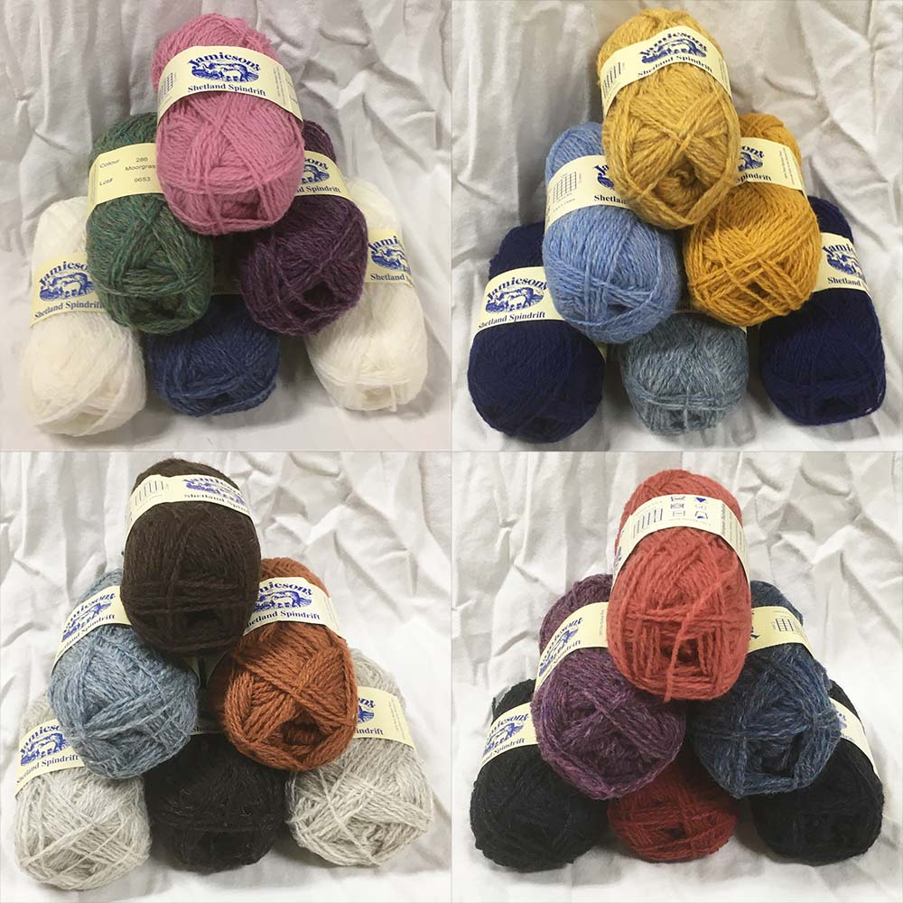 Jamieson's of Shetland Wool Knitting Yarns (Spindrift, DK
