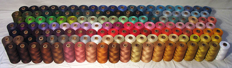 UKI Mercerized Cotton Weaving Yarn